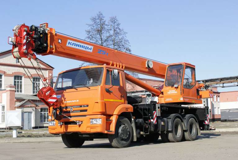 Автокран КС-55713-1К-3 на шасси КАМАЗ-65115