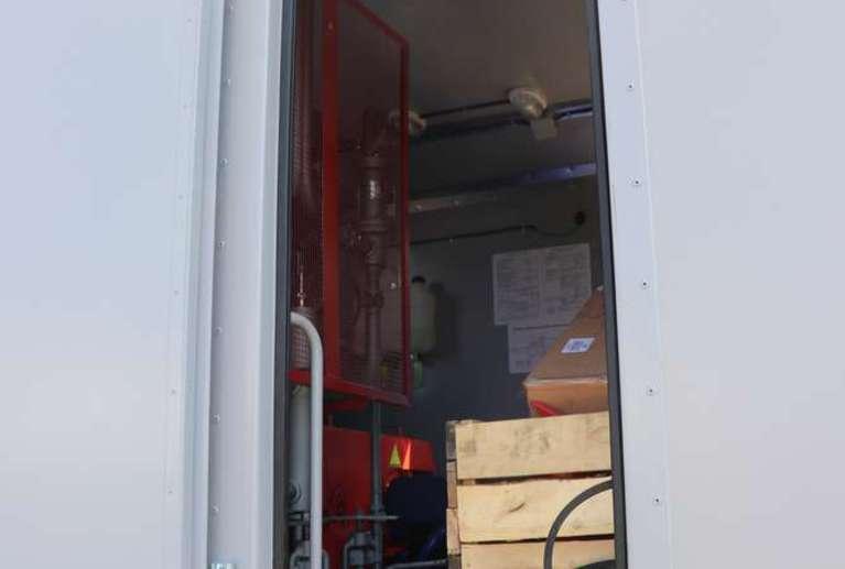 Передвижная паровая установка ППУА 1600/100 на шасси УРАЛ 4320-60Е5