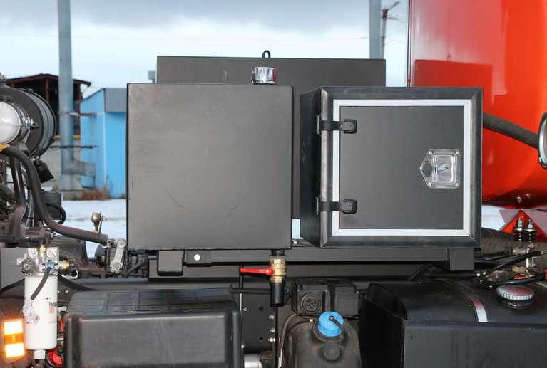 Автотопливозаправщик АТЗ-6 на шасси КАМАЗ 43502-66(D5)