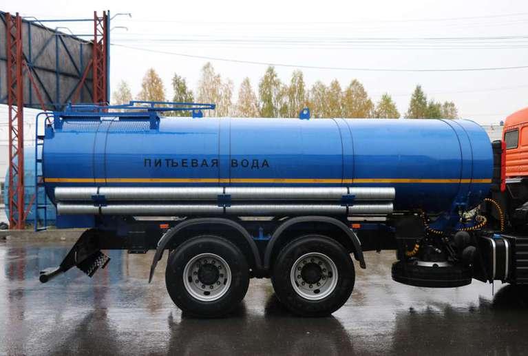Автоцистерна АЦПТ-11,5 на шасси КАМАЗ 65115-50