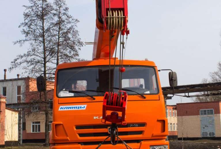 Автокран КС-35719-1-02 на шасси КАМАЗ 43253