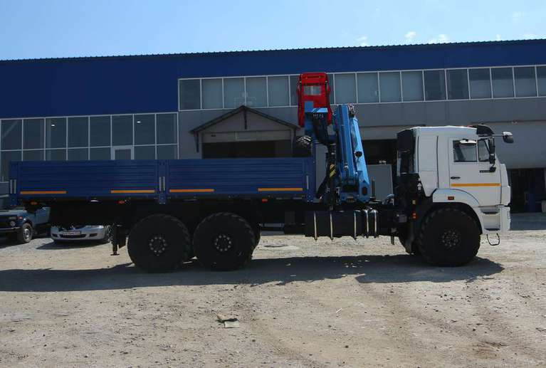 Бортовой Камаз 43118-50 с КМУ ИМ-180