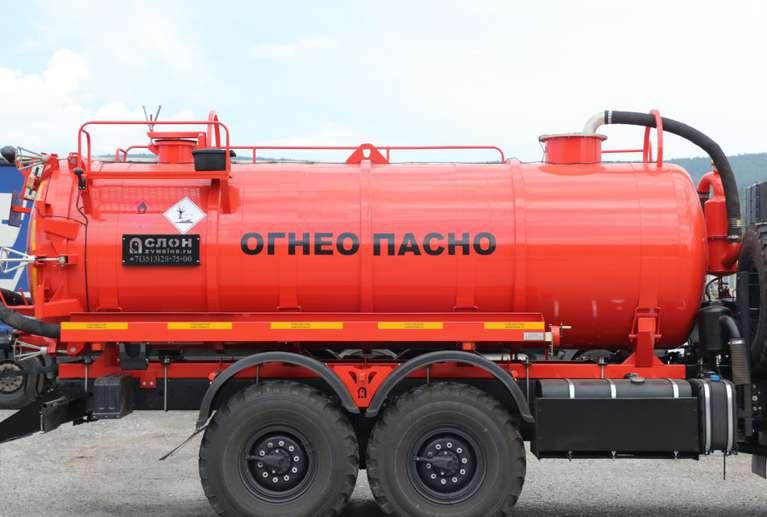 Автоцистерна АКН-11ОД на шасси КАМАЗ 43118-50
