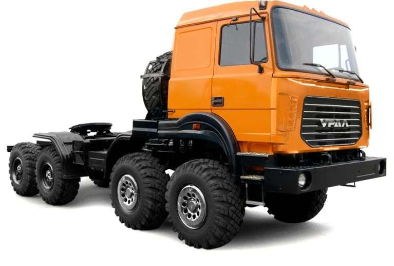 Седельный тягач Урал 542362-74Е5 (бескапотный)