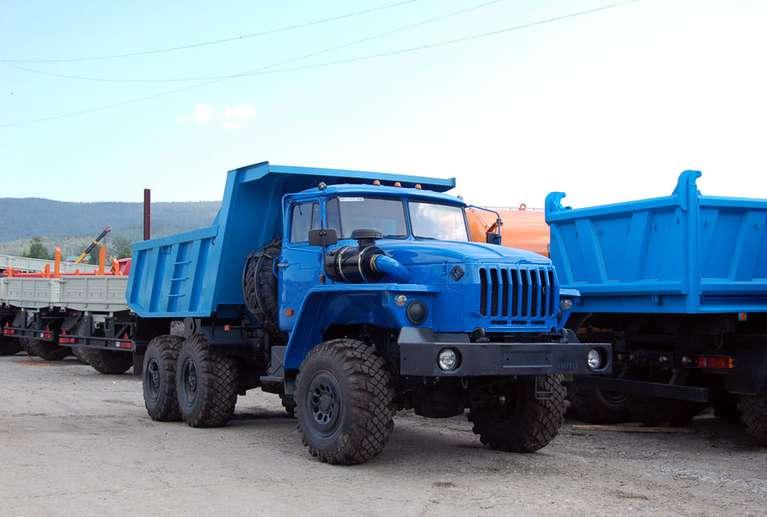 Самосвал Урал 55571-72Е5 (ковшового типа)
