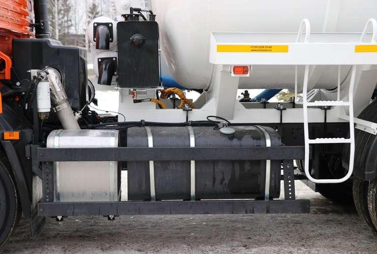 Вакуумная машина МВС-15 на шасси КАМАЗ 65115  (Евро 5)