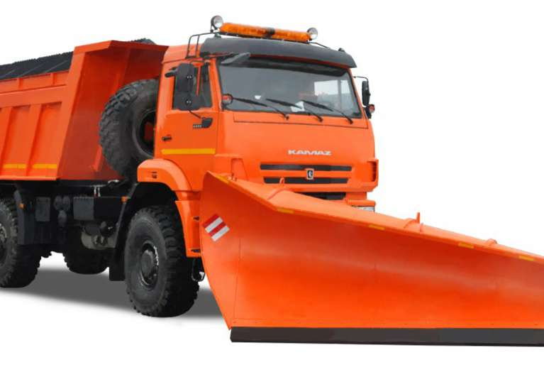 Комбинированная дорожная машина Р-45.222 на шасси КАМАЗ 65222