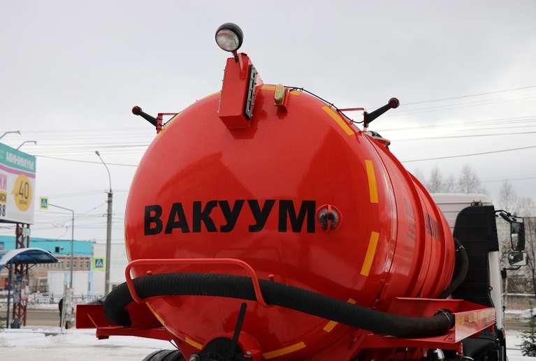 Вакуумная машина МВ-8 на шасси МАЗ-5340С2  (Евро 5)
