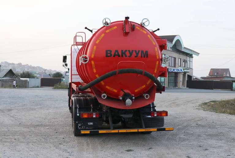 Вакуумная машина МВ-19ОД на шасси МАЗ 6312С5 (насос PNR-124)