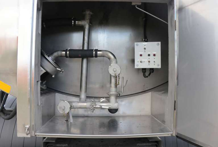 Автоцистерна пищевая АЦПТ-7,5 на шасси МАЗ 5340С2-013