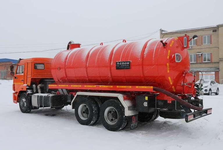 Вакуумная машина МВ-15 на шасси КАМАЗ 65115-50
