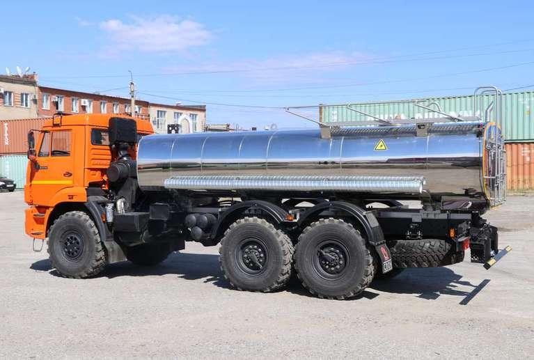 Автоцистерна АЦПТ-10 на шасси КАМАЗ 43118-50