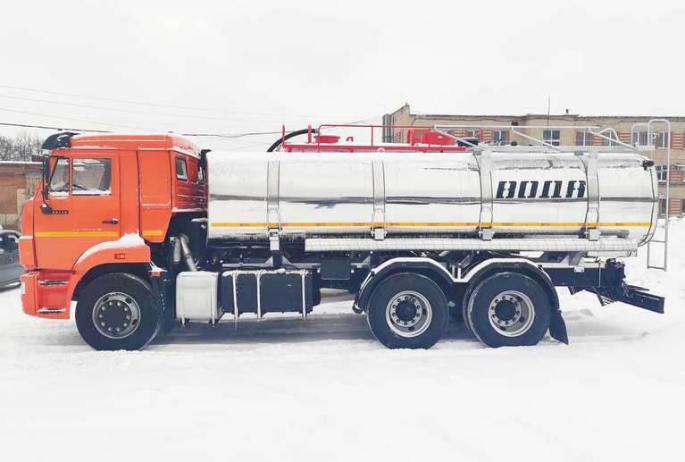 Автоцистерна АЦПТ-12 на шасси КАМАЗ 65115-50