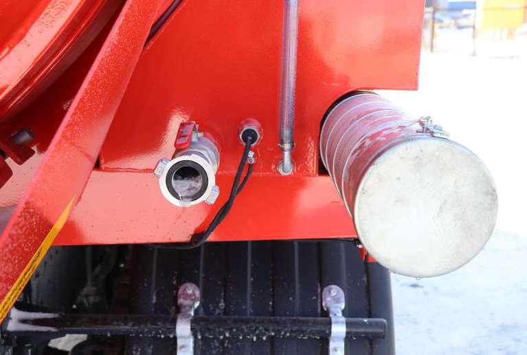 Вакуумная илососная машина МВС-11 на шасси КАМАЗ 65115 (насос DL-250)