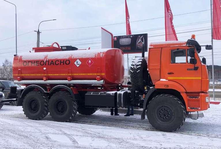 Автоцистерна АЦН-15 на шасси КАМАЗ 43118-50