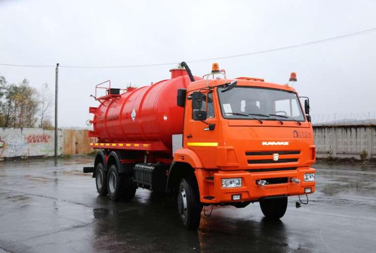 Автоцистерна АКН-15ОД НА ШАССИ КАМАЗ 65111-50