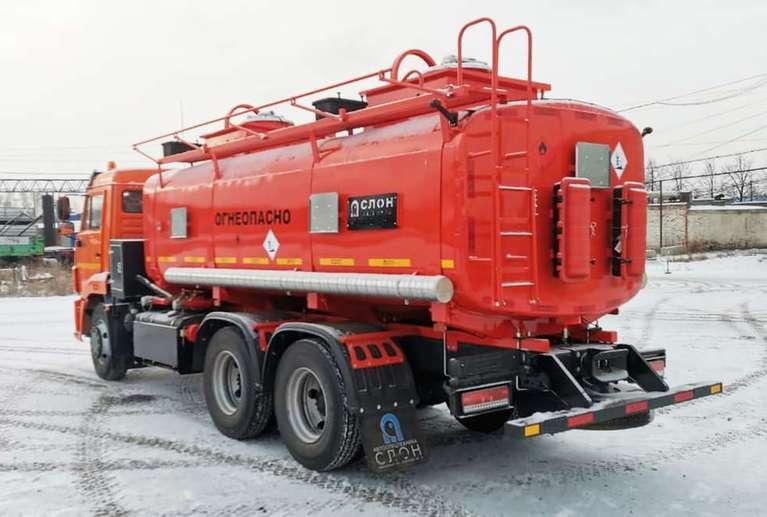 Автотопливозаправщик АТЗ-16 на шасси КАМАЗ 65115-48