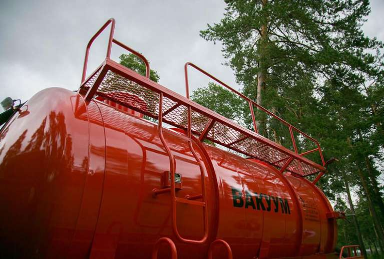 МВ-10ОД на шасси КАМАЗ 43118