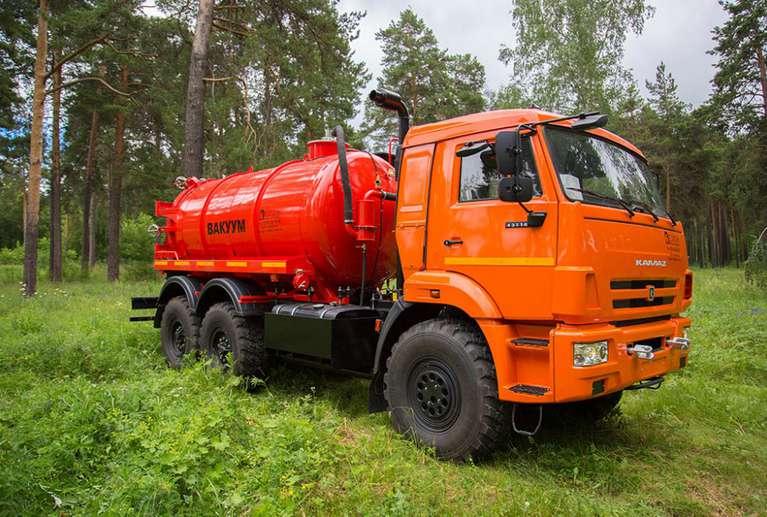 Автоцистерна АКН-10ОД на шасси КАМАЗ 43118-50