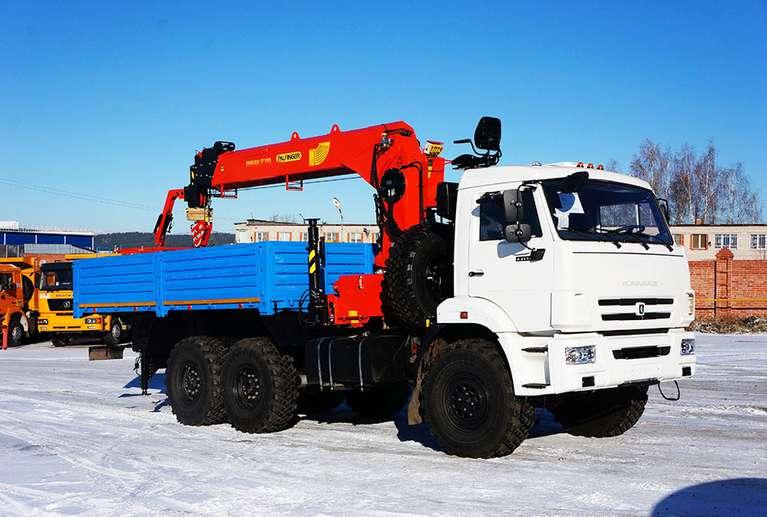 Бортовой автомобиль Камаз 43118-50 с КМУ INMAN IT-180