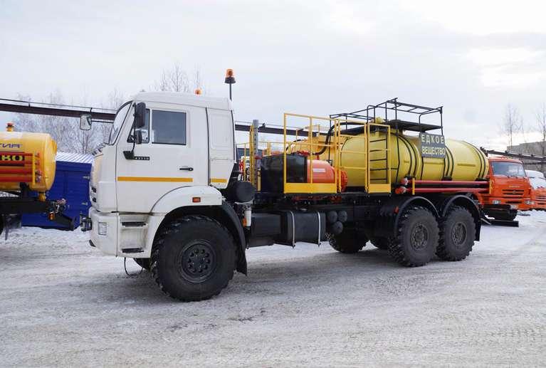Агрегат кислотной обработки СИН32 на шасси КАМАЗ 43118