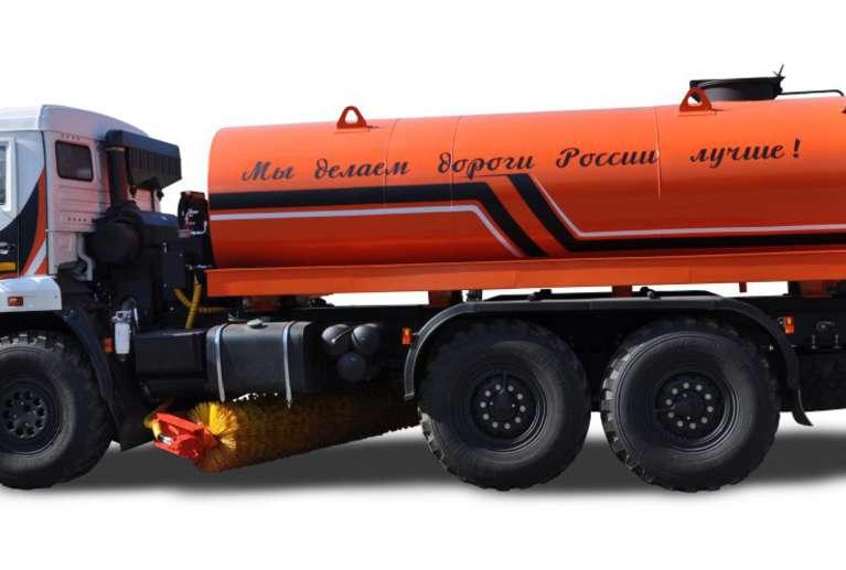 Комбинированная дорожная машина Р-43118 на шасси КАМАЗ 43118