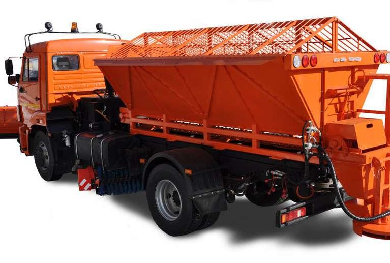 Комбинированная дорожная машина Р-43253 на шасси КАМАЗ 43253