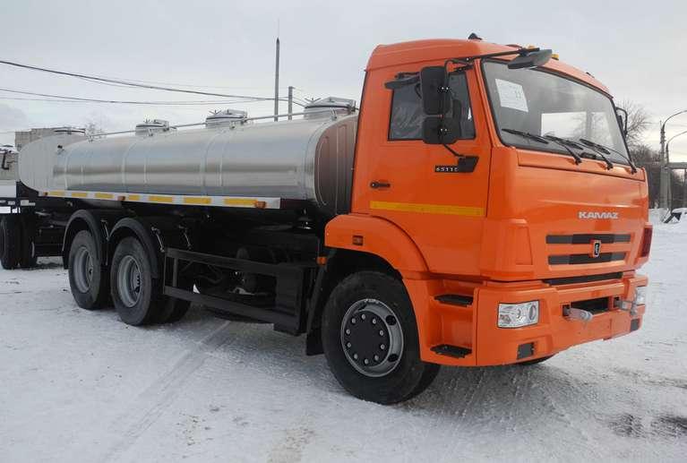 Автоцистерна АЦПТ-8,3 на шасси КАМАЗ 65115
