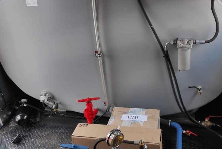 Передвижная паровая установка ППУА 1600/100 на шасси УРАЛ 4320-61Е5