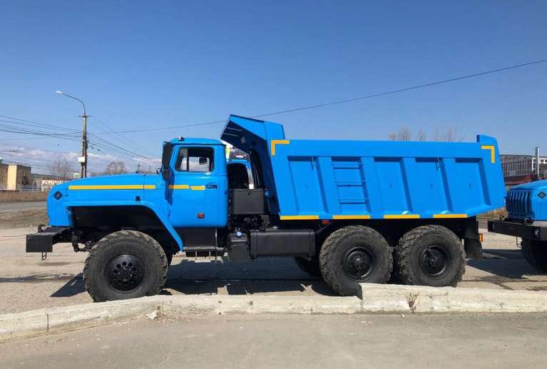 Самосвал Урал 55571-60Е5 (ковшового типа)