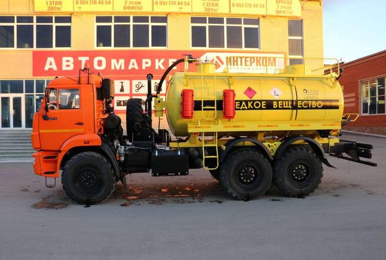 АКН-10 на шасси КАМАЗ 43118-46 (Едкое вещество)