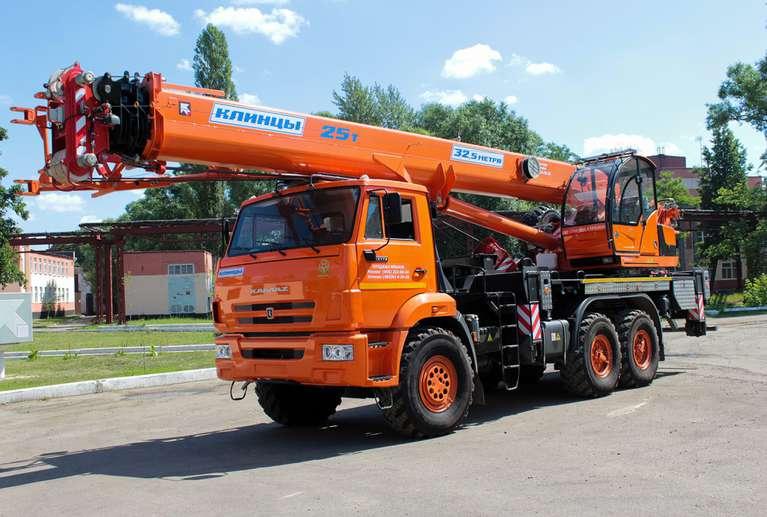 Автокран КС-55713-5К-4В (ОВОИД) на шасси КАМАЗ-43118