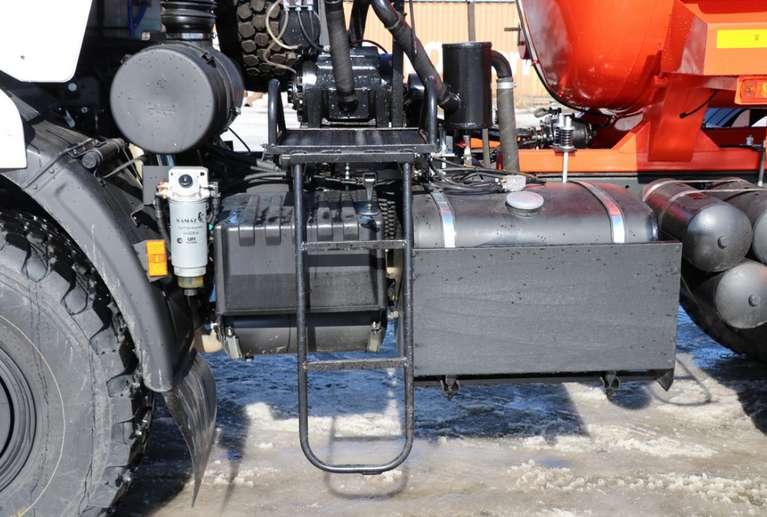 АКН-10 на шасси КАМАЗ 43118-50 (со спальным местом)