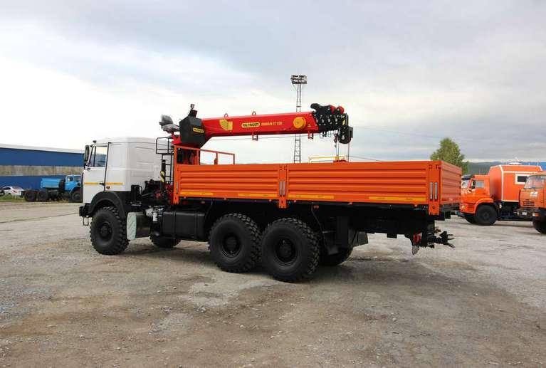 Бортовой МАЗ 6317F9 с КМУ Palfinger IT-150