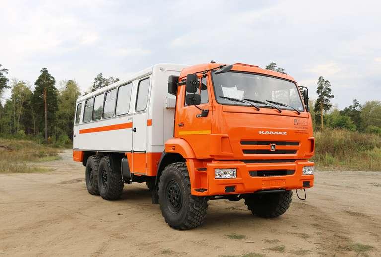 Вахтовый автобус КАМАЗ 5350 (НЕФАЗ)