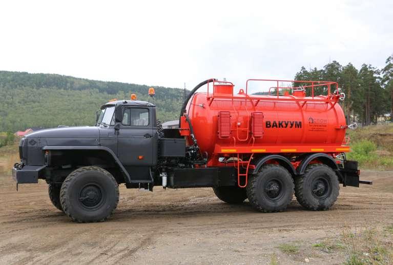 МВ-10ОД НА ШАССИ УРАЛ-4320