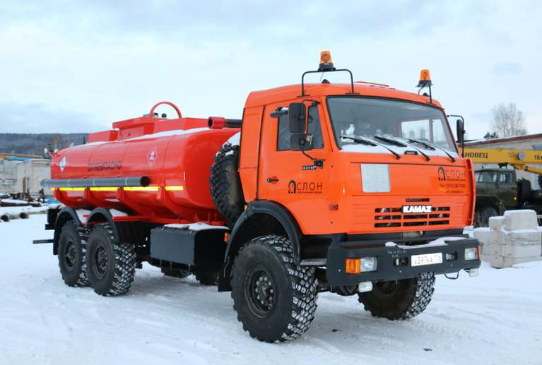 Автоцистерна АЦ-12 Камаз 43118
