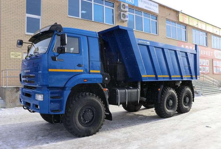 Самосвал Камаз 65222 (платформа: 16 куб.м.)