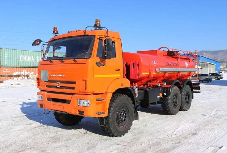 Автоцистерна АЦ-10 Камаз 43118