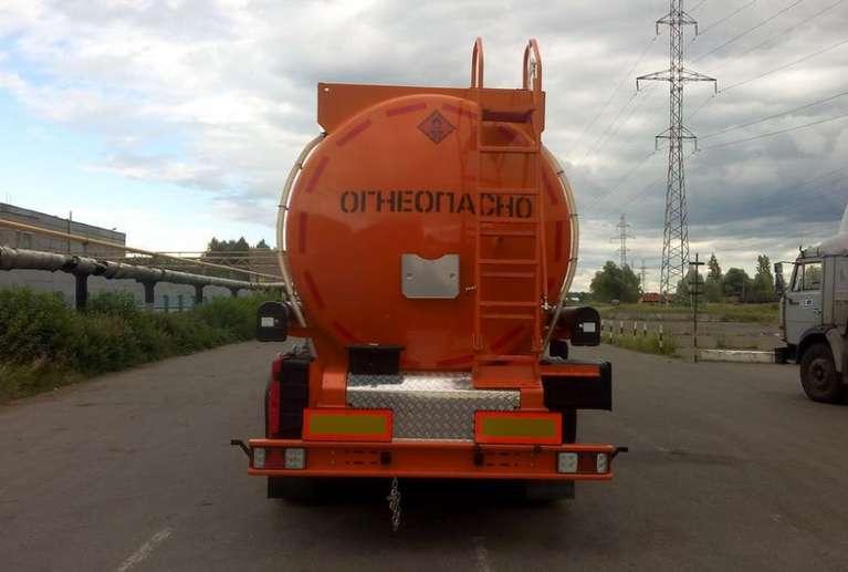 Полуприцеп-цистерна НЕФАЗ 96895 (бензовоз)