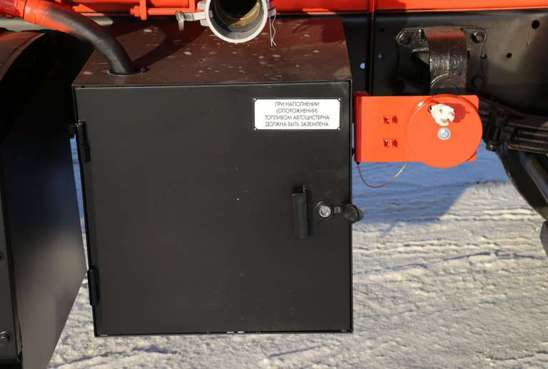Автотопливозаправщик АТЗ-8,6 на шасси Камаз 43253-28