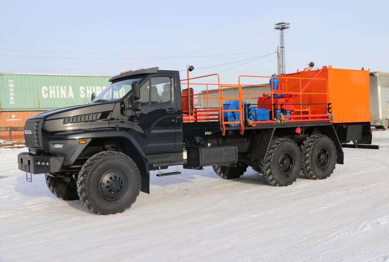 Агрегат цементировочный ЦА-320 на шасси Урал NEXT