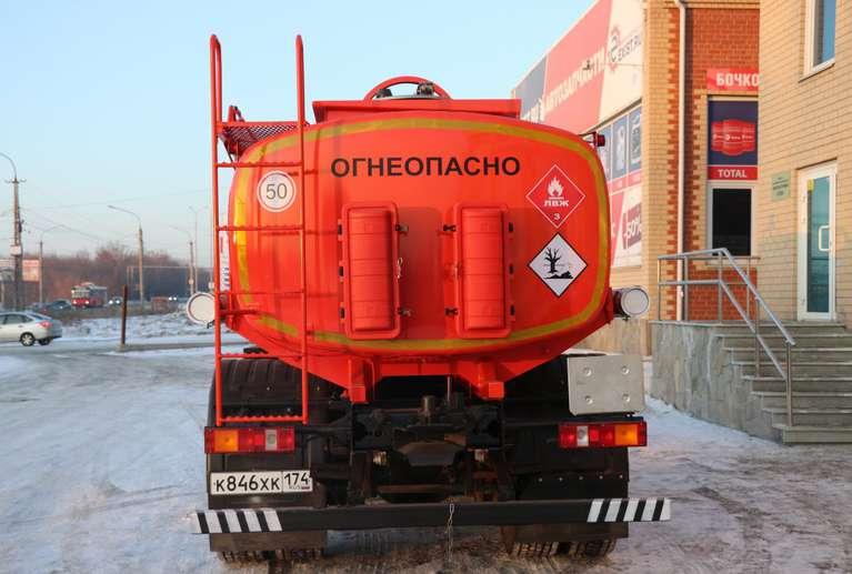 Автотопливозаправщик АТЗ-11 МАЗ 5340В3