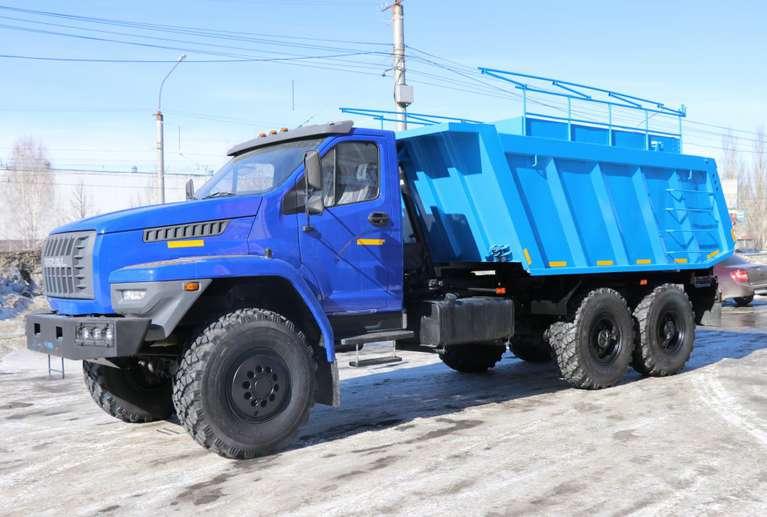 Самосвал-шламовоз Урал NEXT 74E5