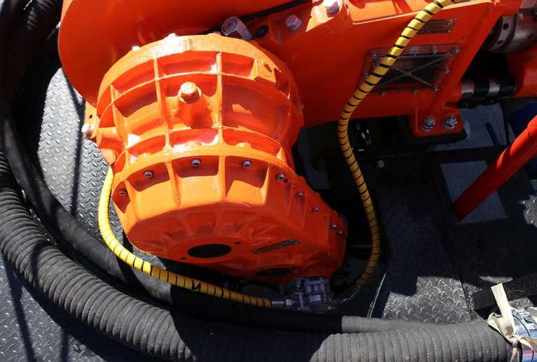 Установка для цементирования и кислотной обработки скважин КАМАЗ 43502