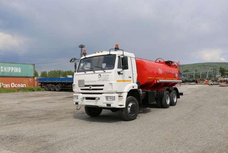 Автоцистерна АЦН-15 на шасси КАМАЗ 65111