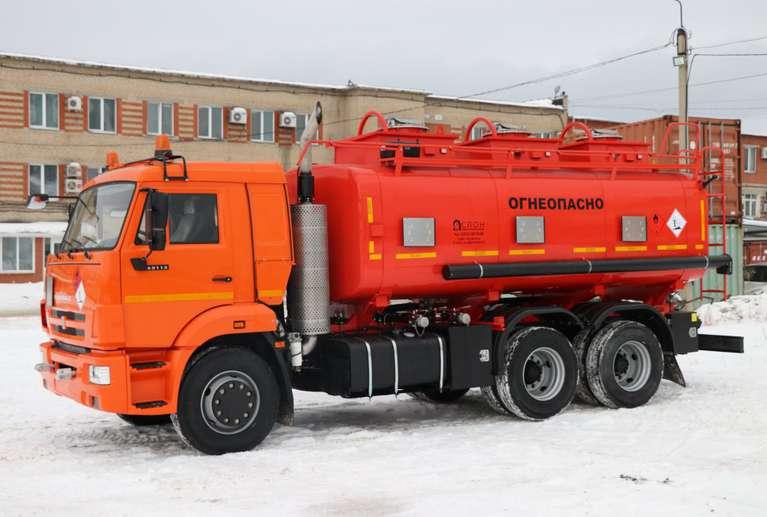 Автотопливозаправщик АТЗ-16 на шасси КАМАЗ 65115-50