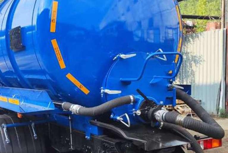 Вакуумная машина МВ-20 на шасси МАЗ 6312С9 (насос КО-510)