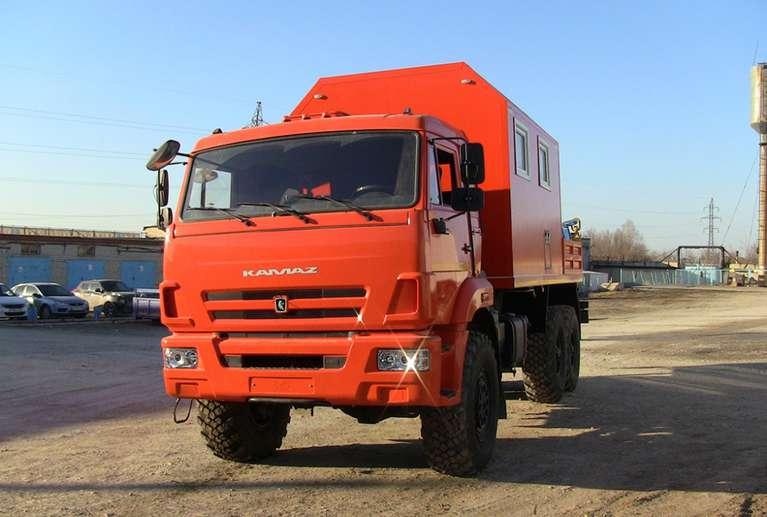АНРВ с КМУ на шасси КАМАЗ 43118