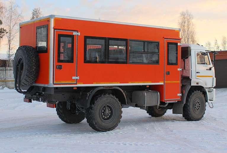 Вахтовый автобус КАМАЗ 43502